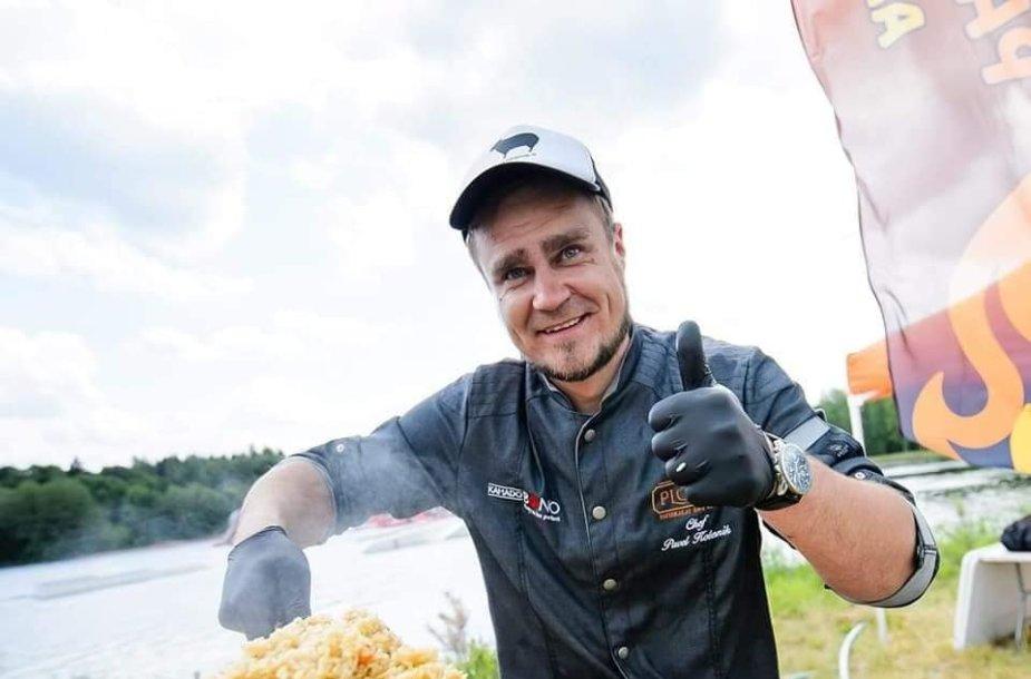 Plovo didmeistrį Pavelą Kolesniką polinkis gaminti lydi nuo vaikystės