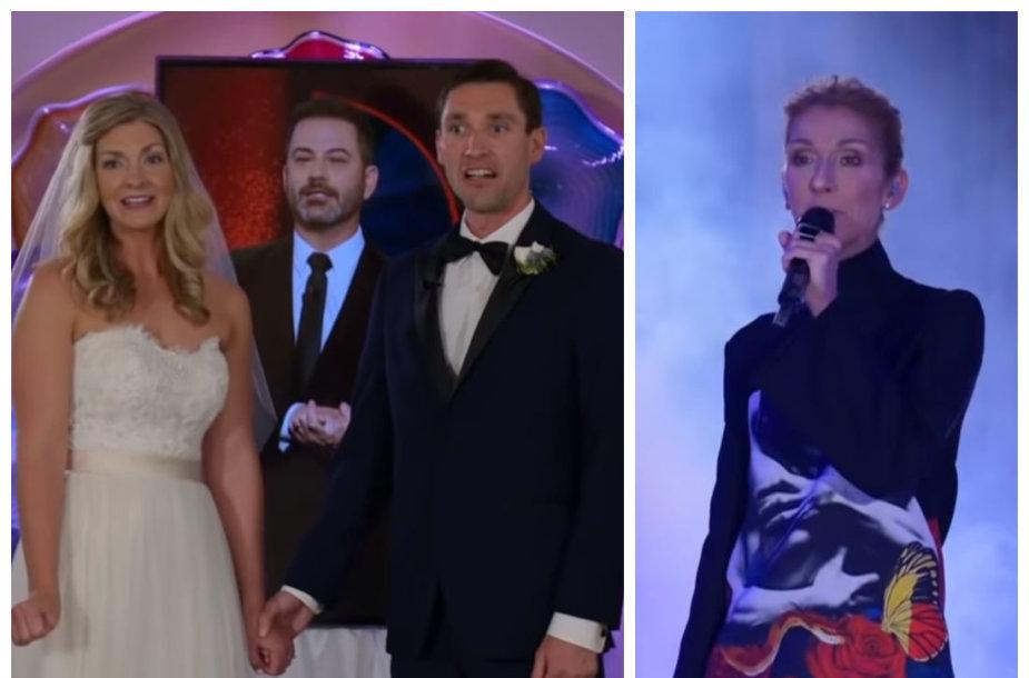 Kate ir Jasonas, Celine Dion