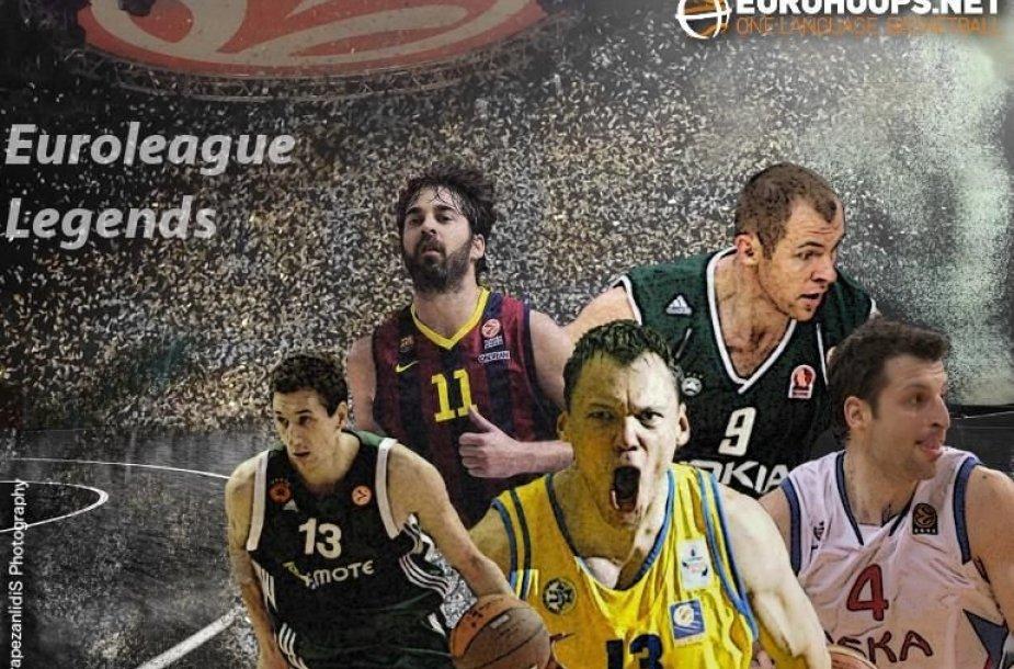 Eurolygos legendos