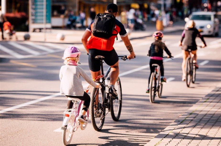 Savarankiška vaiko kelionė su dviračiu