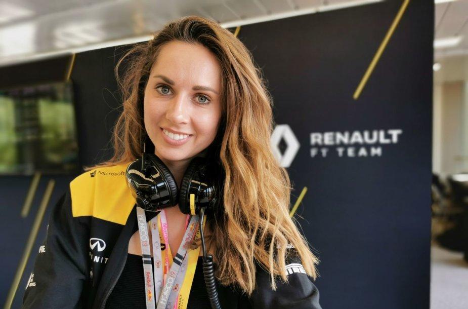 """Išskirtinių drabužių kūrėja Eglė Ruškytė – """"Formulės 1"""" piloto Nico Hulkenbergo širdies draugė"""