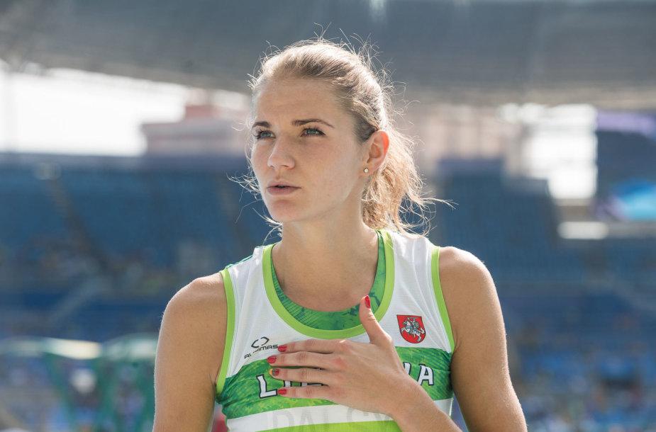Airinė Palšytė žengė į Rio žaidynių finalą