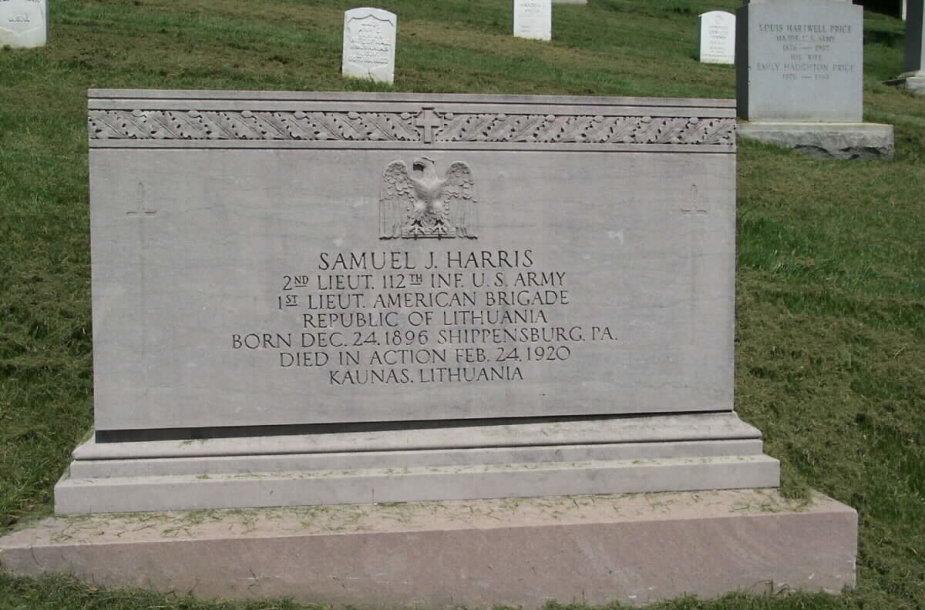 Samuelio Harriso kapas