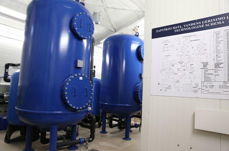 Zapyškio vandens gerinimo įrenginiai
