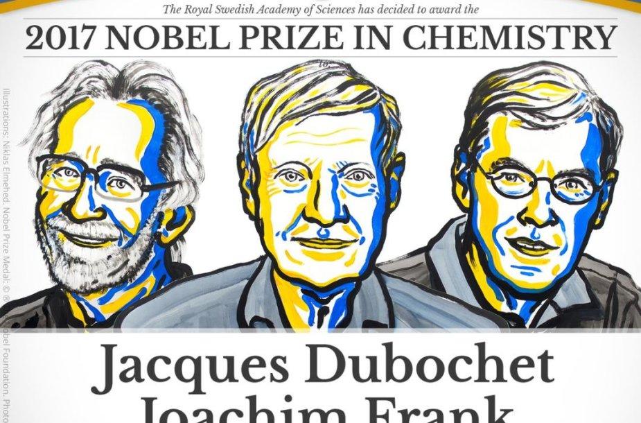 Nobelio premijos laureatų chemijos srityje paskelbimas