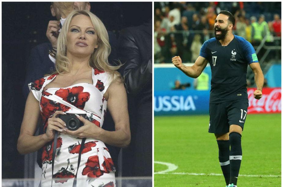 Pamela Anderson ir Adilas Rami