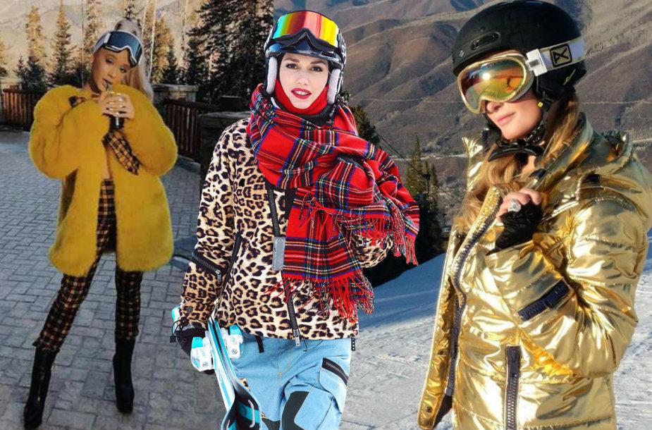 Ariana Grande, Gwen Stefani ir Paris Hilton