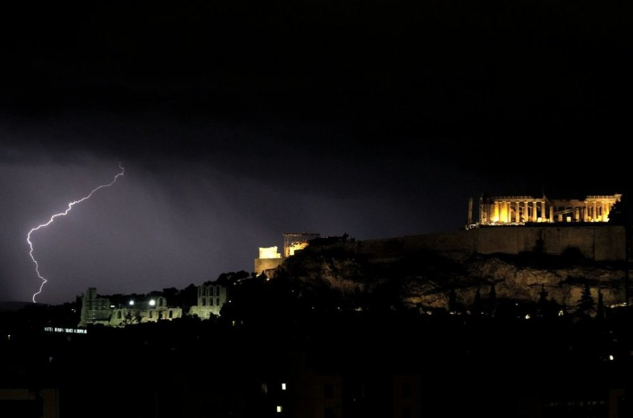 Audra Graikijoje
