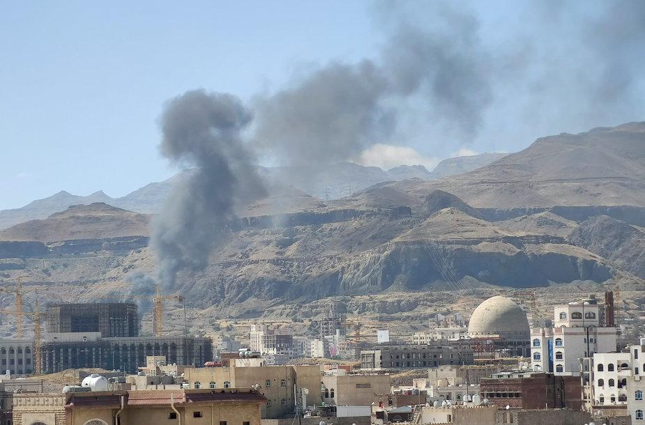 Jemene tęsiasi bombardavimai