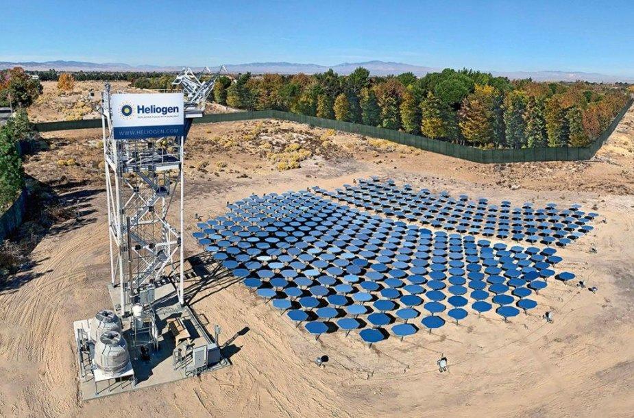 """""""Heliogen"""" koncentruotos Saulės energijos jėgainė"""