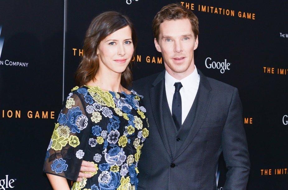 Benedictas Cumberbatchas ir Sophie Hunter