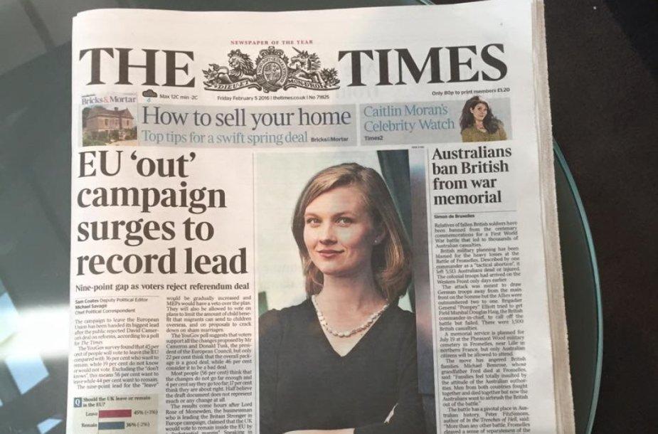 "Mirga Gražinytė-Tyla laikraščio ""The Times"" viršelyje"