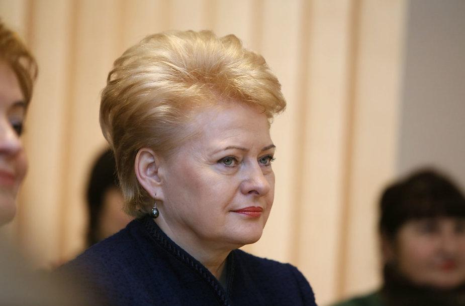 Dalia Grybauskaitė Nemajūnų dienos centre