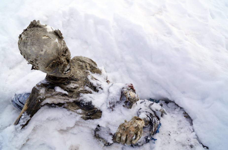 Rastos mumijos Meksikoje