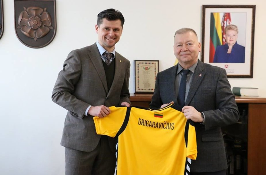 Tomas Danilevičius ir Vytautas Grigaravičius