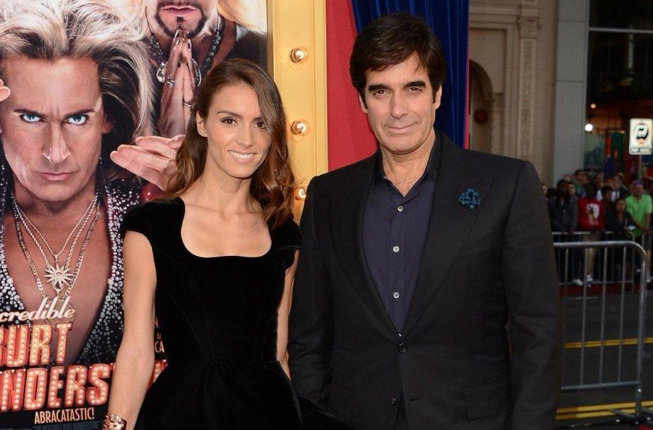 Davidas Copperfieldas ir Chloe Gosselin