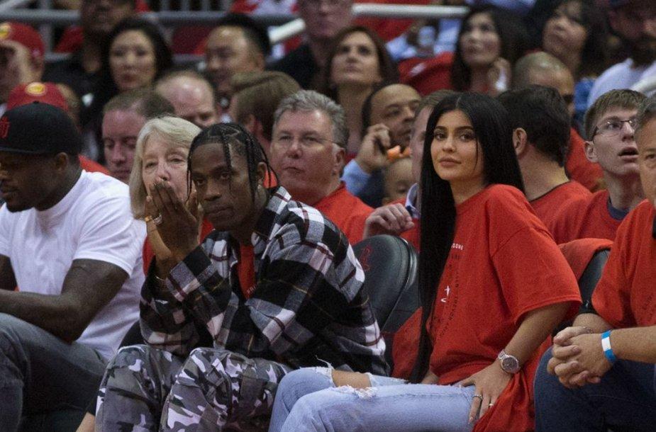 Kylie Jenner ir Travisas Scottas