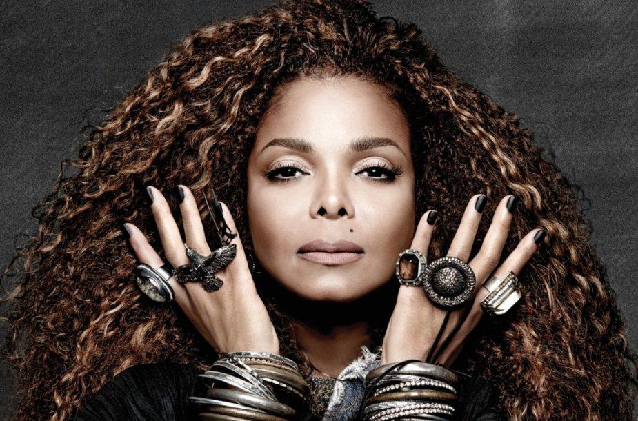 """Janet Jackson albumo """"Unbreakable"""" viršelis"""