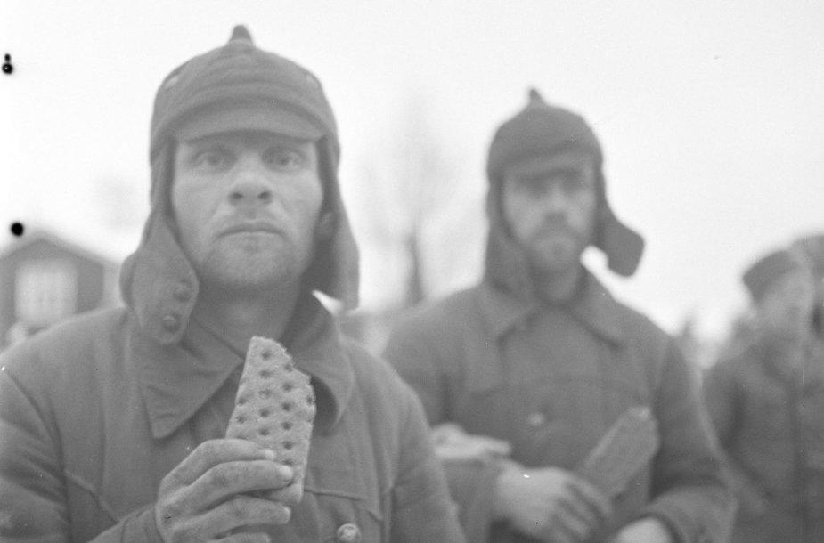 Raudonosios armijos kariai suomių nelaisvėje