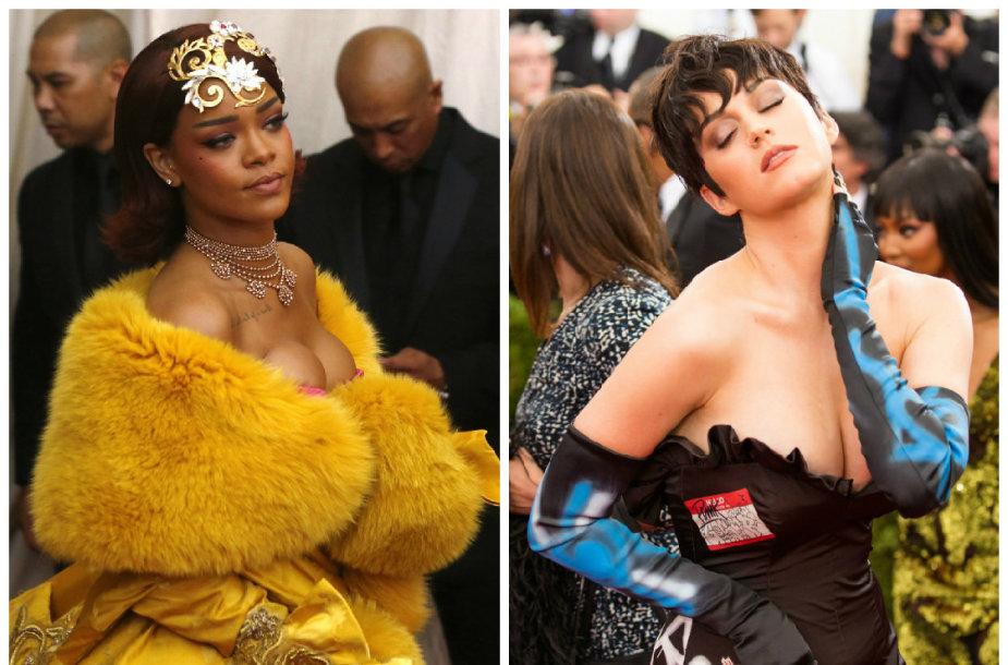 Rihanna ir Katy Perry