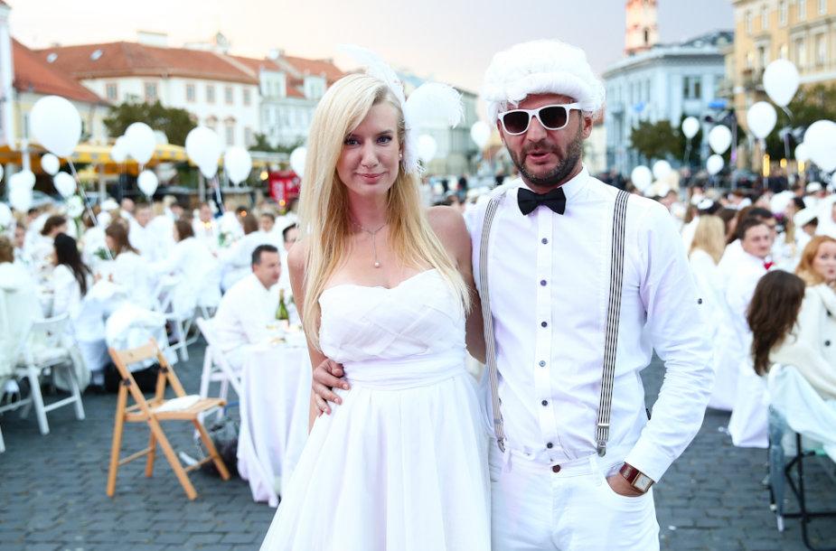 Erika Purauskytė ir Darius Tolušis