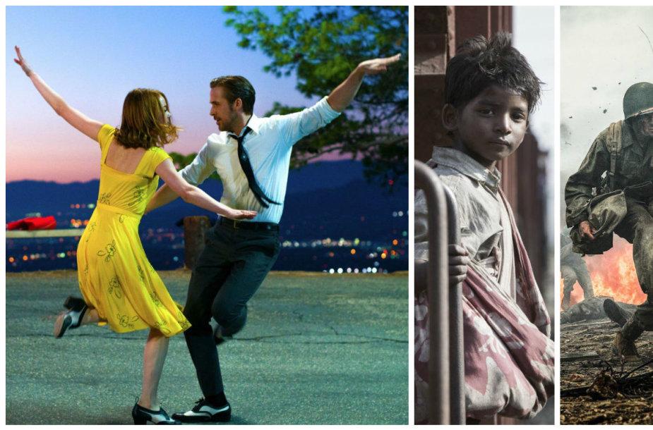 """""""Oskarams"""" nominuoti filmai: """"Kalifornijos svajos"""", """"Liūtas"""" ir """"Pjūklo ketera"""""""