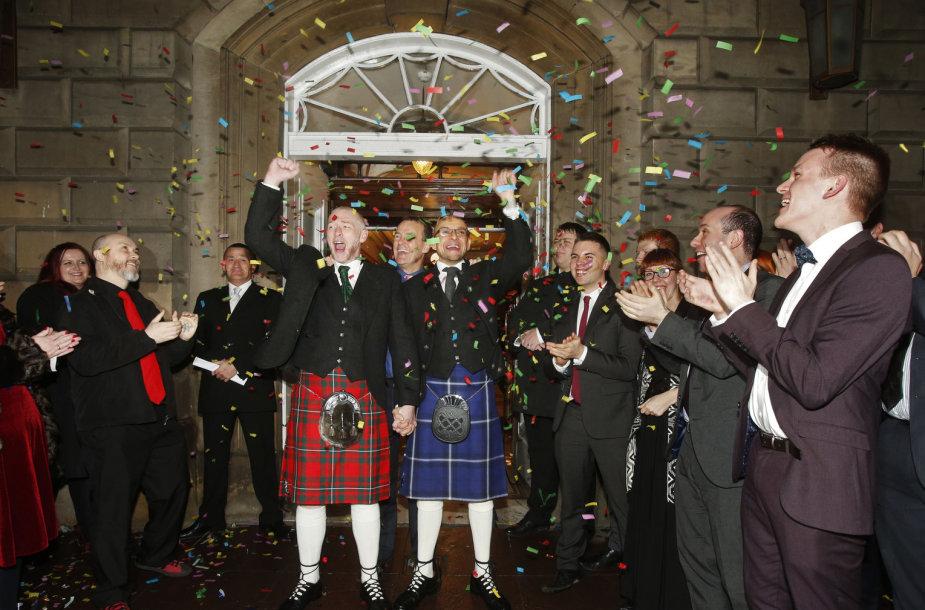 Homoseksualų vedybos Škotijoje