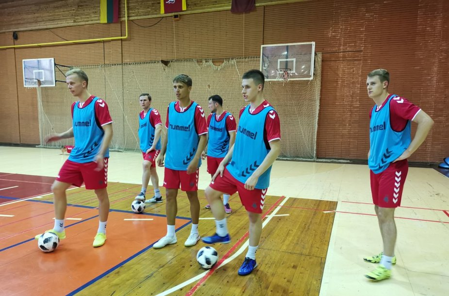 Futsal rinktinės kandidatai