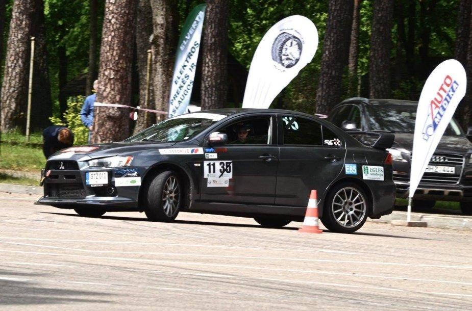 Greituminio slalomo čempionatas