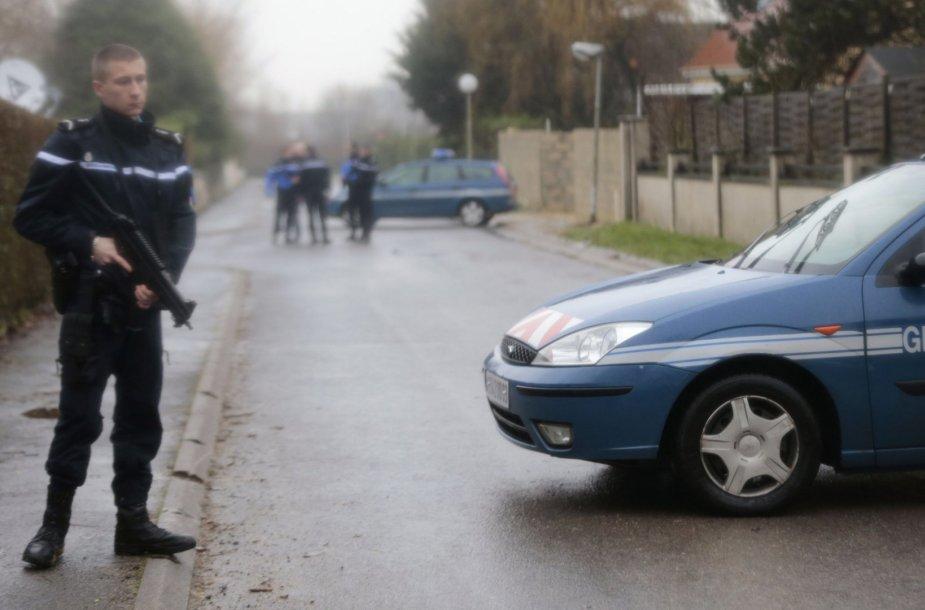Prancūzijos policininkai