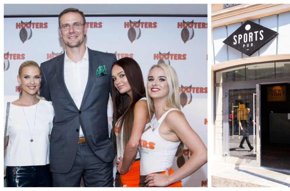 """Po pusantrų metų veiklos užsidarė Roberto Javtoko baras """"Hooters"""": vietoj jo duris atvėrė """"Sports pub"""""""