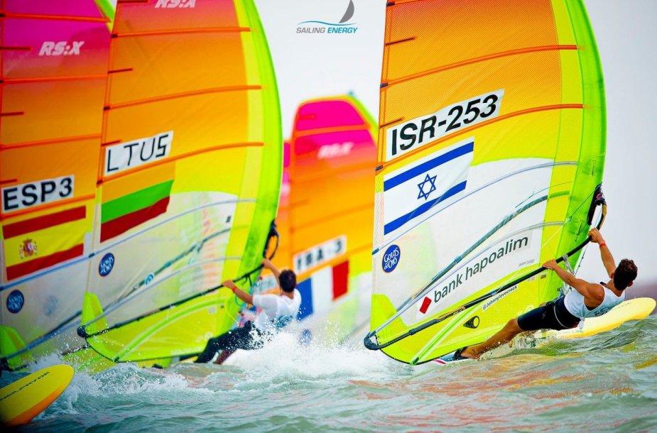 Juozas Bernotas pasaulio čempionate užėmė 21 vietą.