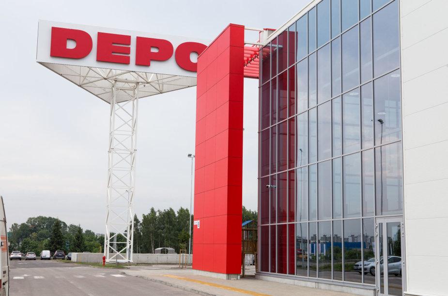 """Kaune atidaryta """"DEPO"""" parduotuvė"""