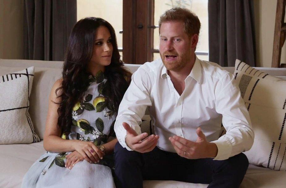 Sasekso hercogai Meghan ir Harry