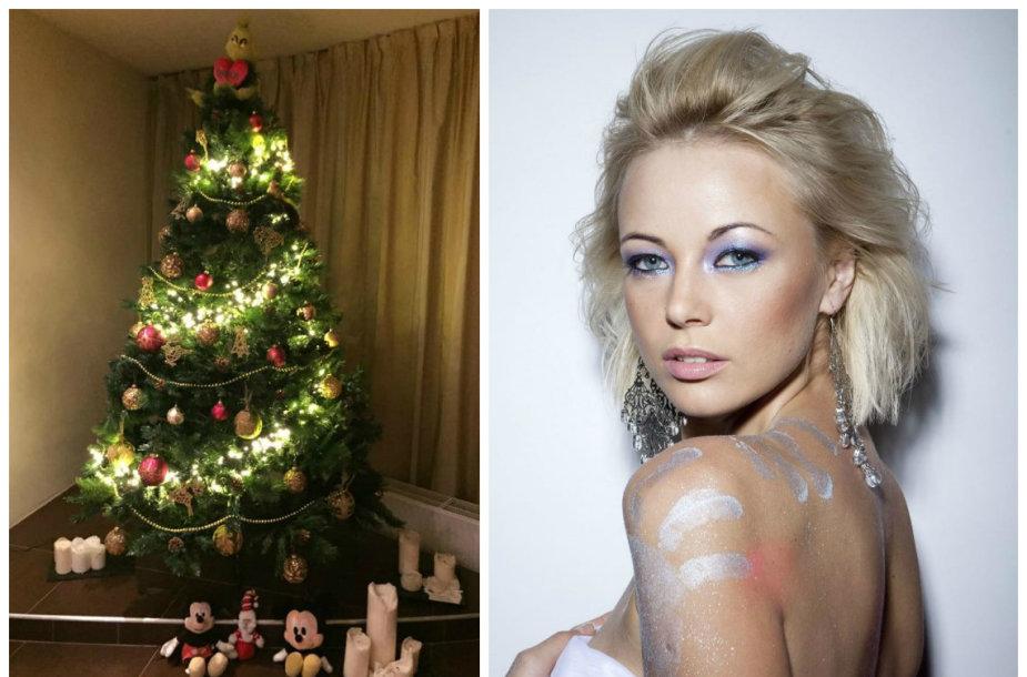 Vilija Pilibaitytė-Mia ir jos Kalėdų eglė