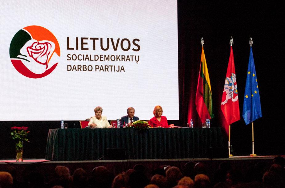 Steigiamasis Lietuvos socialdemokratų darbo partijos suvažiavimas