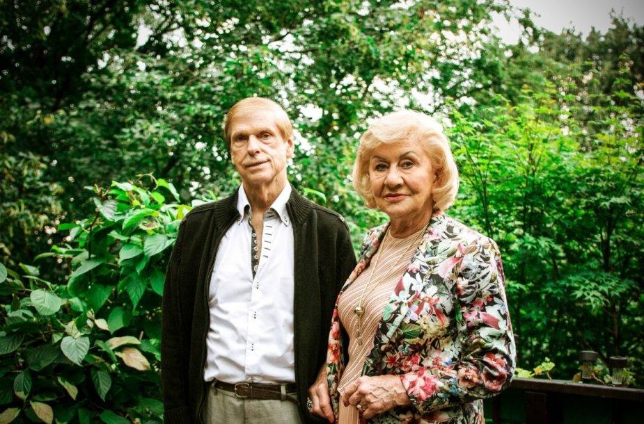 Jūratė ir Česlovas Norvaišos