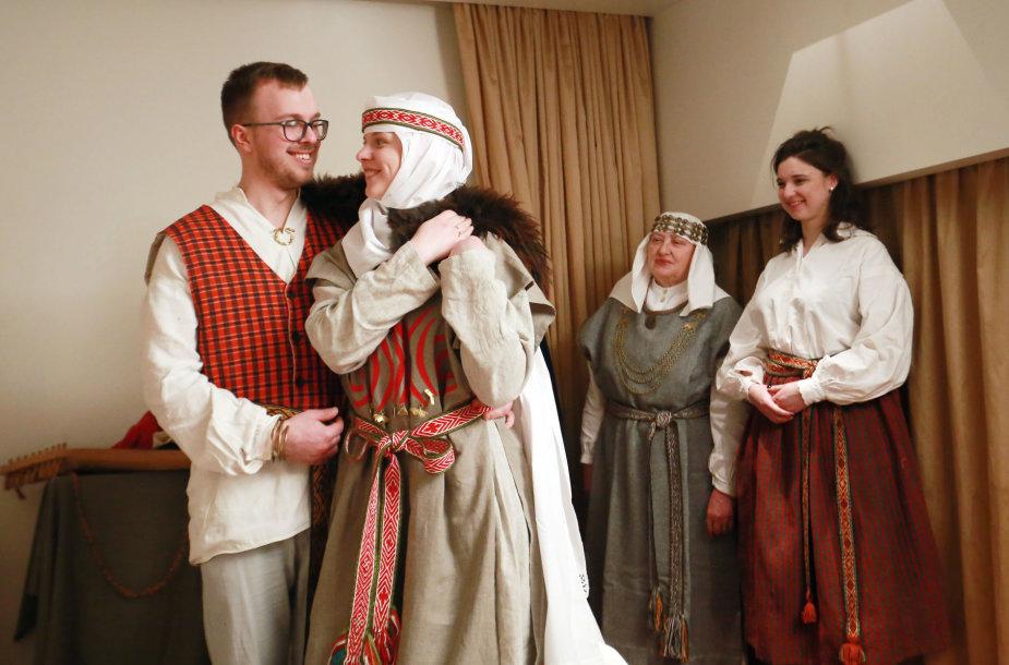 Archajinių vestuvių ritualas