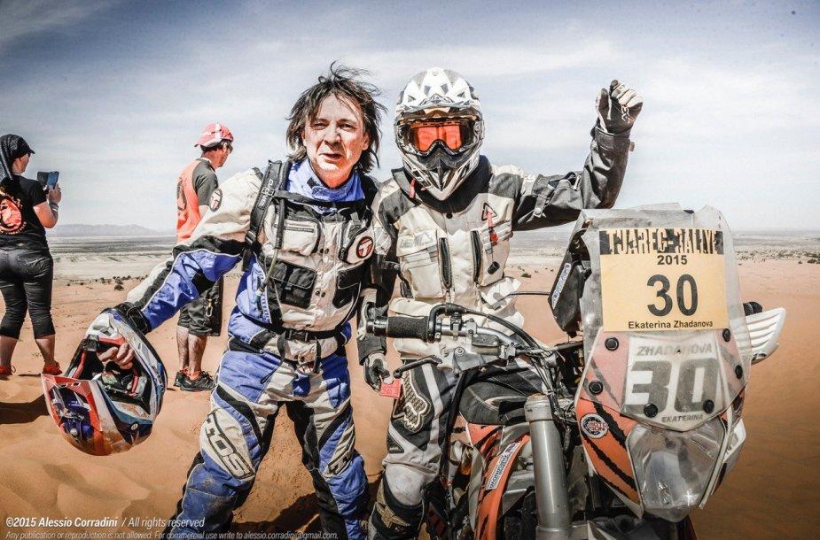 2015-ųjų Tuarego ralio akimirka