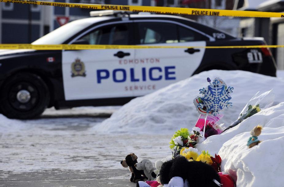 Žudynių vieta Edmontone, Kanadoje