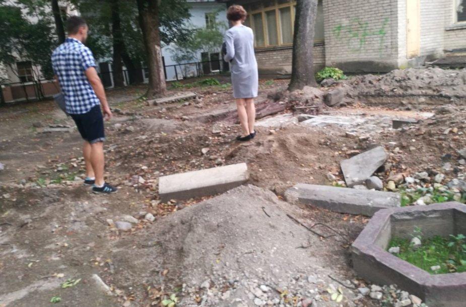 Vilniaus didžiosios sinagogos kasinėjimų vieta