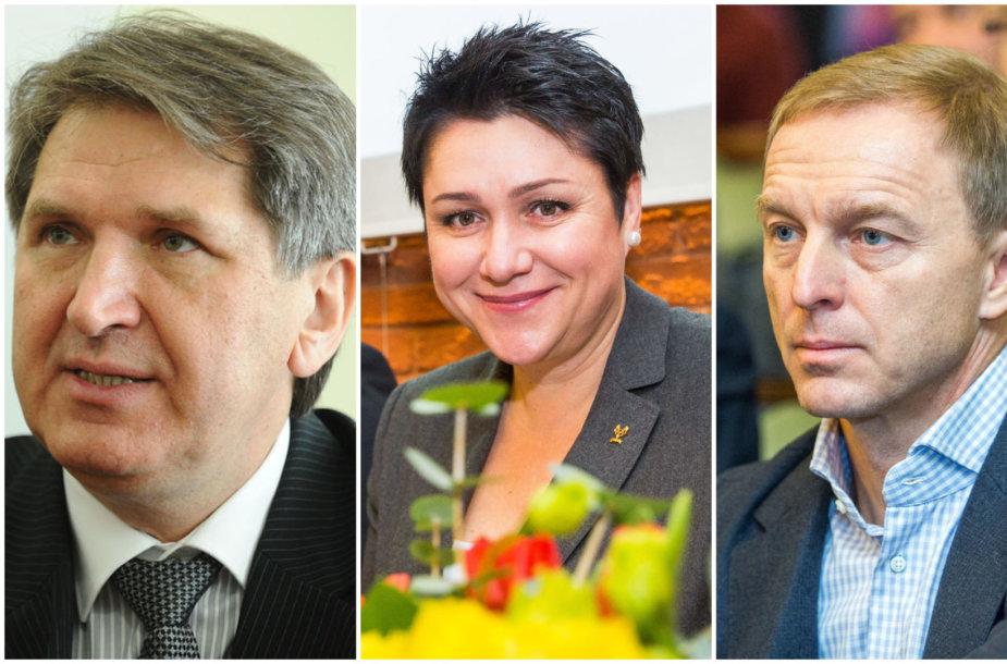 Romas Vitkauskas, Daina Gudzinevičiūtė ir Eimantas Skrabulis
