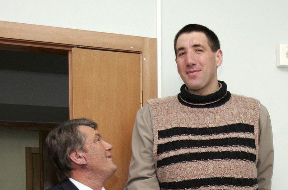 Leonidas Stadnikas ir Viktoras Juščenka