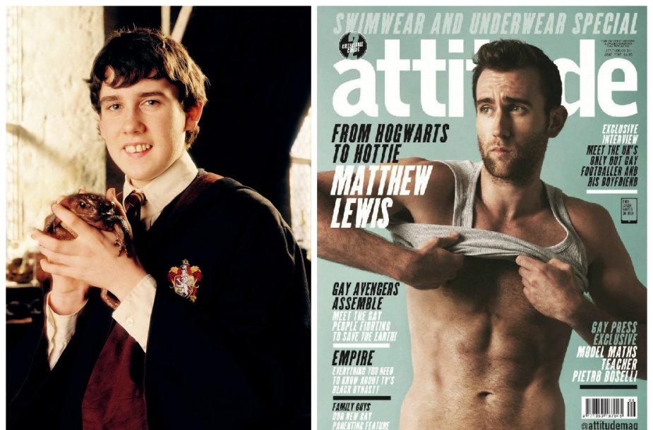Matthew Lewisas filme apie Harį Poterį (2004 m.) ir dabar