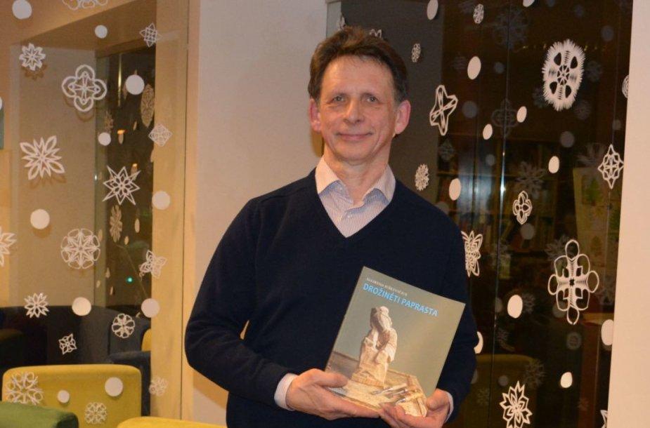 Algirdas Juškevičius pristatė knygą