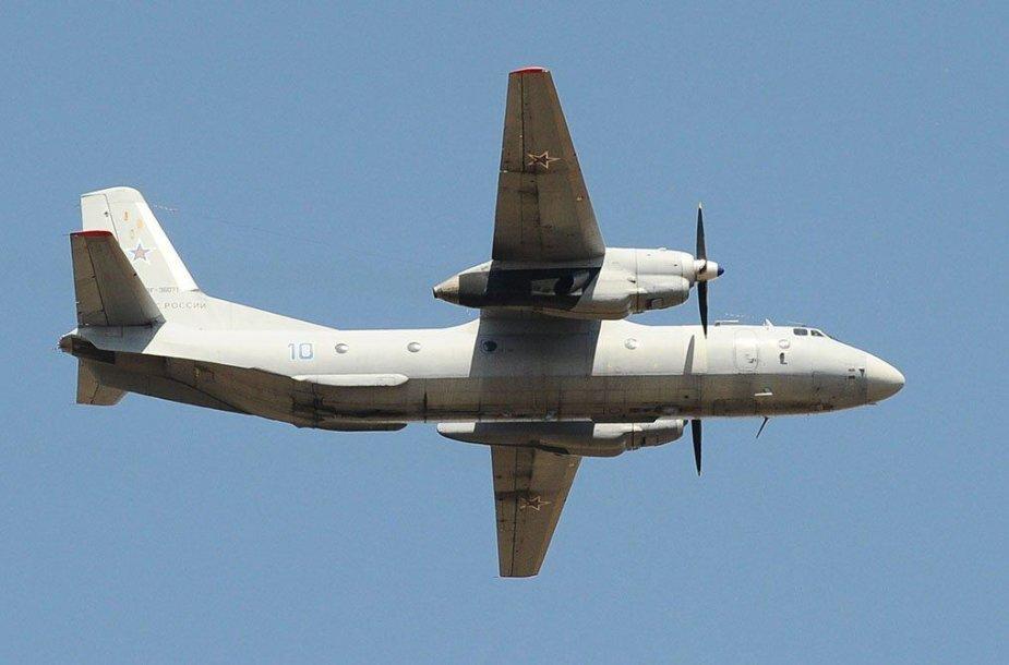 Sirijoje nukrito rusų lėktuvas