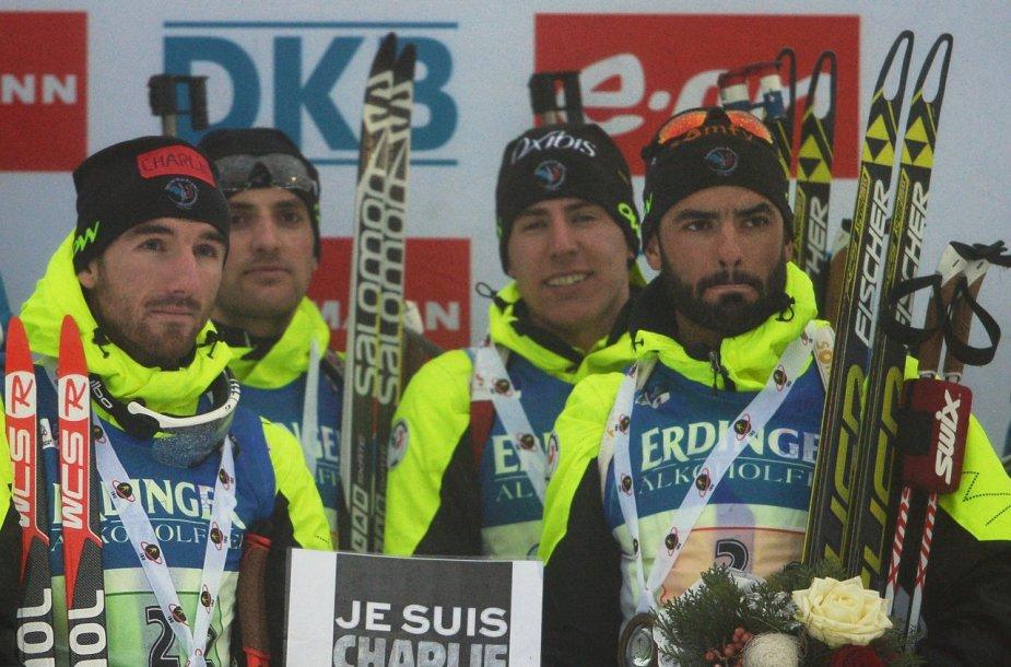 Prancūzijos biatlono vyrų rinktinės nariai