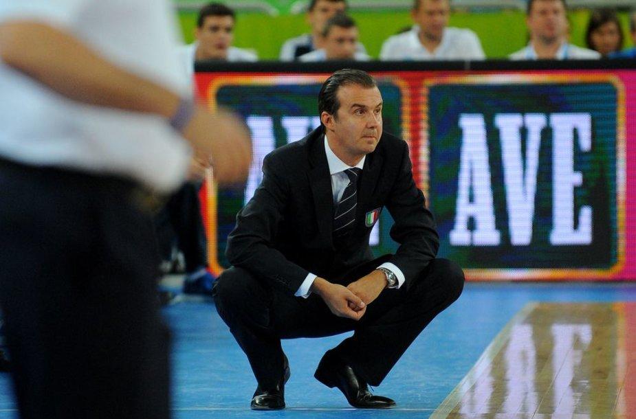 Italijos krepšinio rinktinės treneris Simone Pianigiani