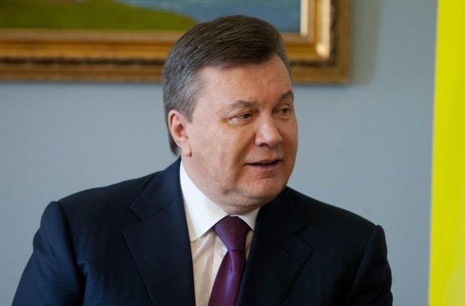 Ukrainos prezidenta Viktoras Janukovyčius