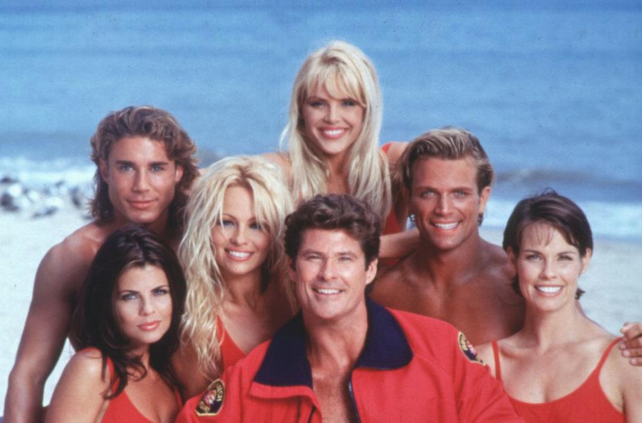 """Serialo """"Gelbėtojai"""" aktoriai (1993 m.)"""